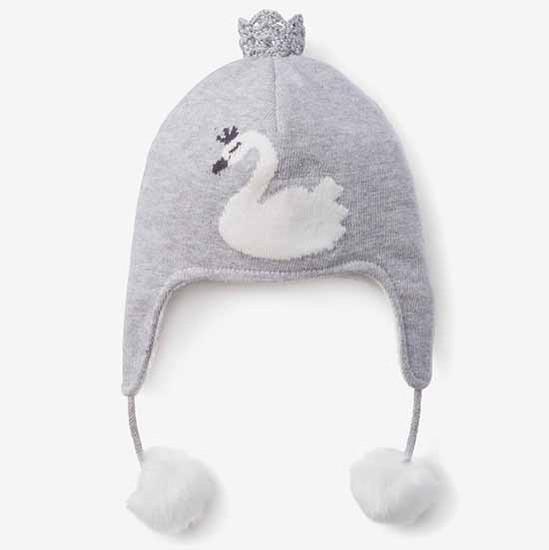 Elegant Baby Swan Princess Aviator Hat Color