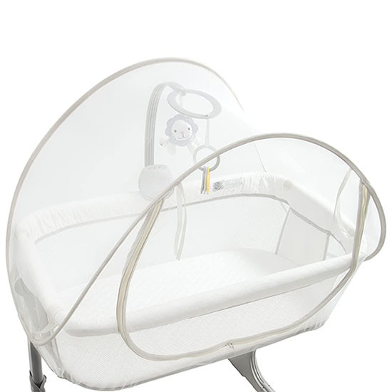 Arms Reach Mini CoSleeper Canopy - White View