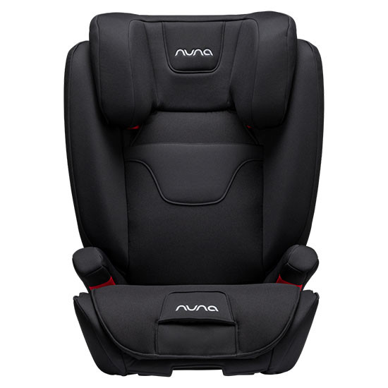 Nuna AACE FR Free Booster Car Seat Caviar Front
