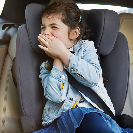 Nuna AACE FR Free Booster Car Seat Lifestyle 2