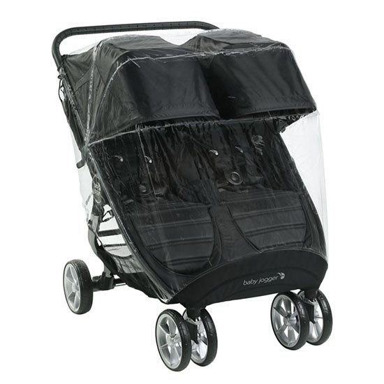 Baby Jogger City Mini 2 and GT2 Double Weather Shield Main