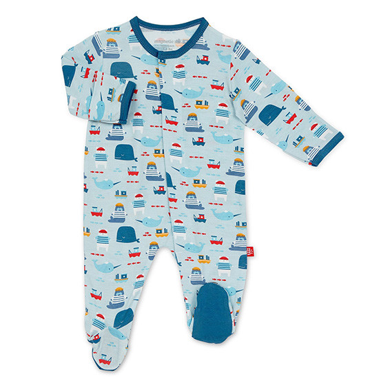 Magnificent Baby Magnetic Oh Buoy Footie