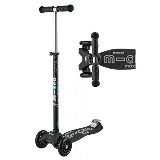 Micro Scooter Maxi Deluxe Black/White