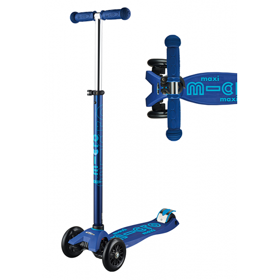 Micro Scooter Maxi Deluxe Blue