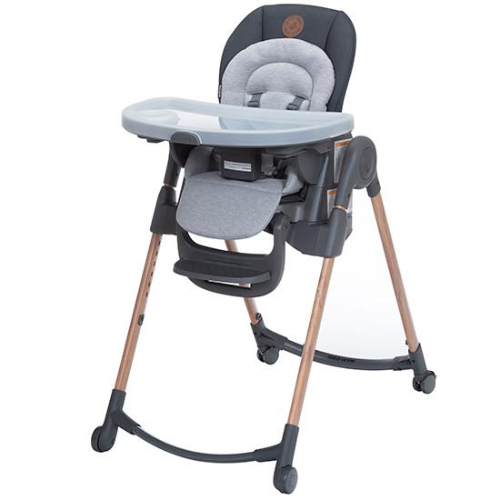 Maxi-Cosi 6-in-1 Minla Adjustable Highchair - Essencial Graphite