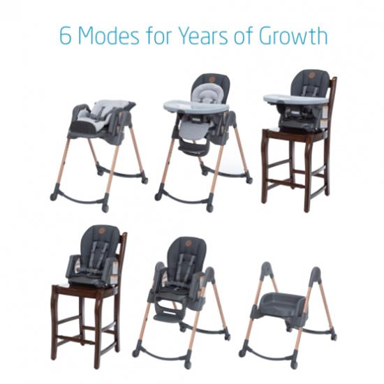 Maxi-Cosi 6-in-1 Minla Adjustable Highchair