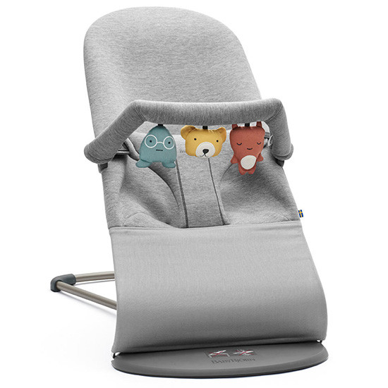 Baby Bjorn Bouncer Soft Toy - Soft Friends Feature