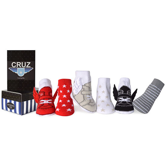 Trumpette Cruz Socks - 0-12 Months