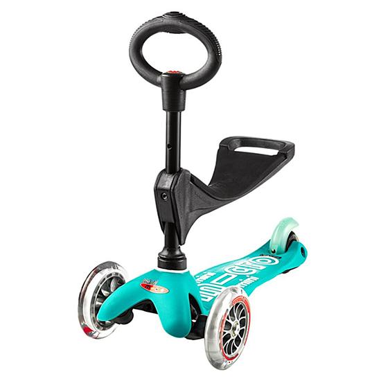 Micro Kickboard Mini 3in1 Deluxe Scooter Aqua