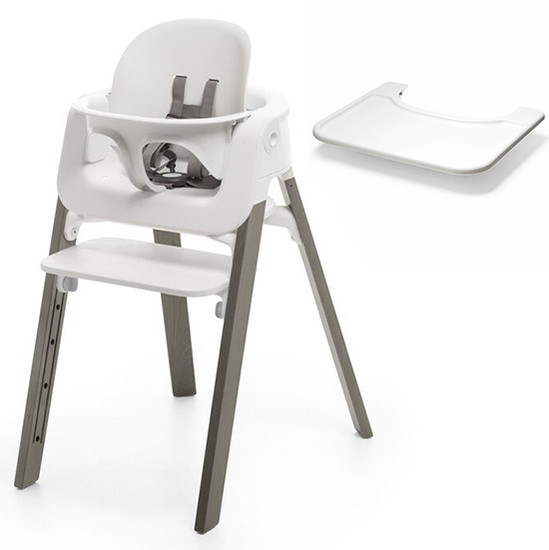 Stokke Steps High Chair + Tray