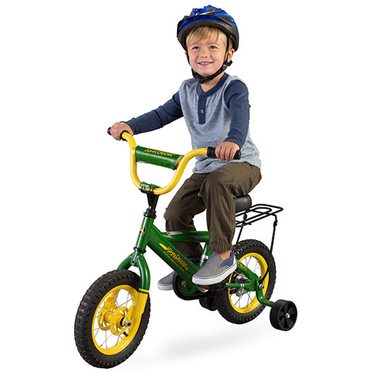 Tomy International Johndeere 12-inch Bicycle Boy Rider