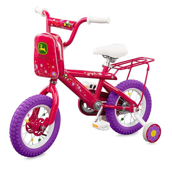 Tomy International John Deere 12-inch Girl's Bicycle Main