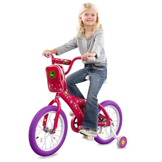 Tomy International John Deere 16-inch Girl's Bicycle Rider
