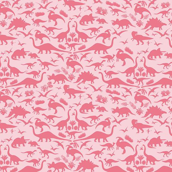 Bebe Au Lait Hooded Towel Dinorama - Pink