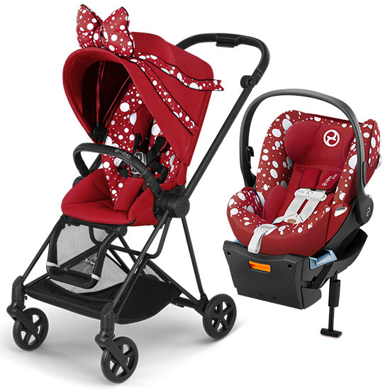 Cybex Mios 2 Stroller with Cloud Q - Jeremy Scott Petticoat