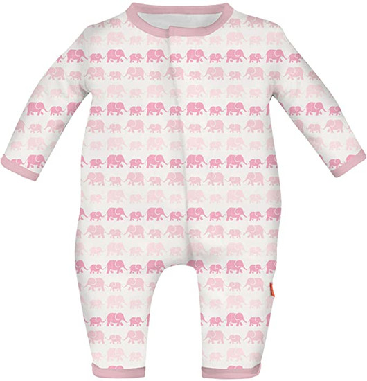 Magnificent Baby Magnetic Me Pink Elephant Coverall