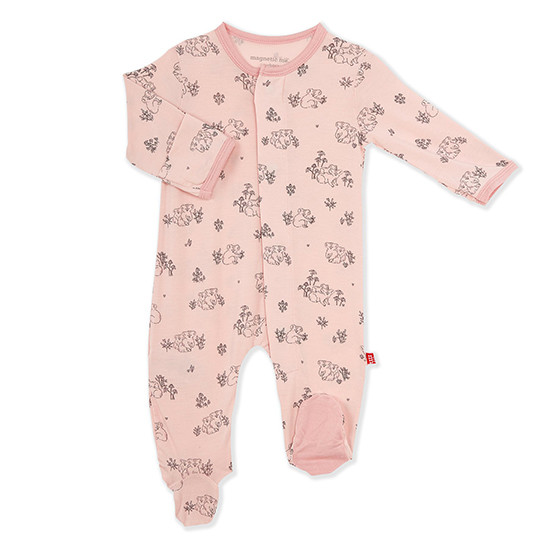 Magnificent Baby Magnetic Me Koala Cuddles Pink Footie
