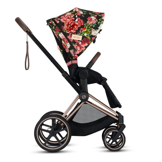 CYBEX 2019 PRIAM 3 Complete Stroller - Spring Blossom Dark_thumb1_thumb2