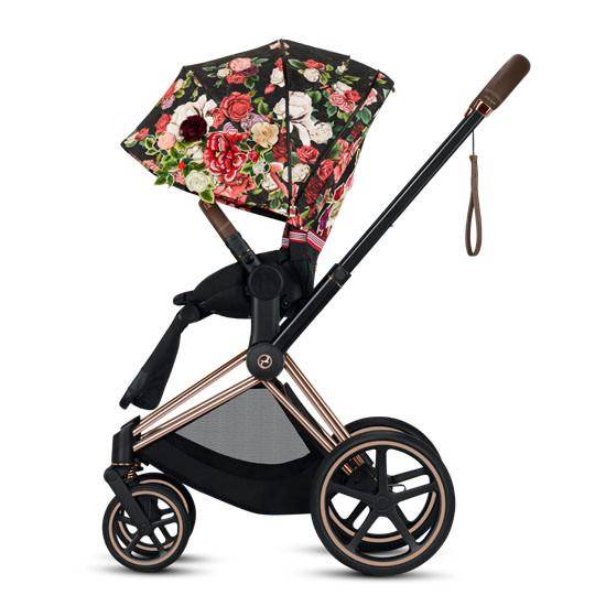 CYBEX 2019 PRIAM 3 Complete Stroller - Spring Blossom Dark_thumb3