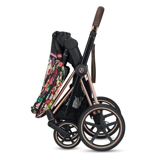 CYBEX 2019 PRIAM 3 Complete Stroller - Spring Blossom Dark_thumb5