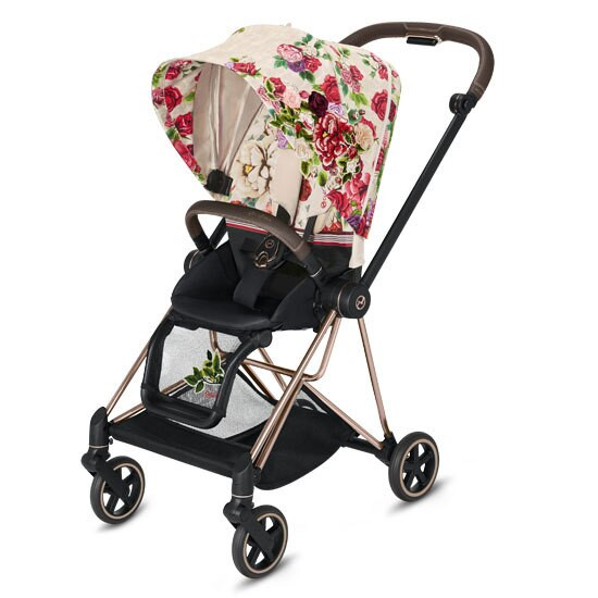 Cybex MIOS 2 Stroller with Cot - Spring Blossom
