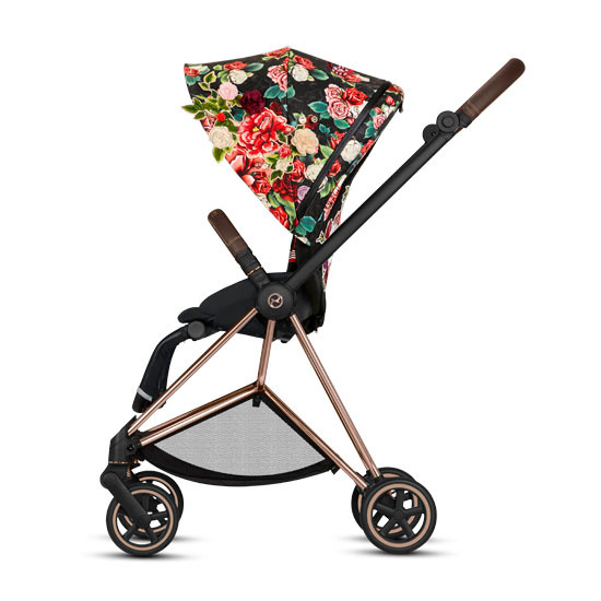 CYBEX 2019 MIOS 2 Complete Stroller - Spring Blossom Dark_thumb3