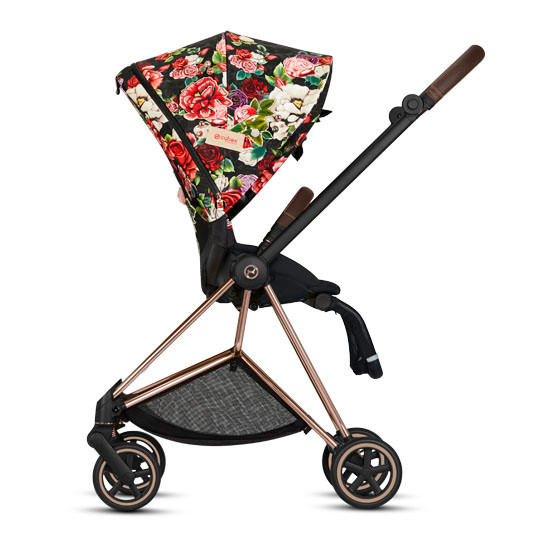 CYBEX 2019 MIOS 2 Complete Stroller - Spring Blossom Dark_thumb4