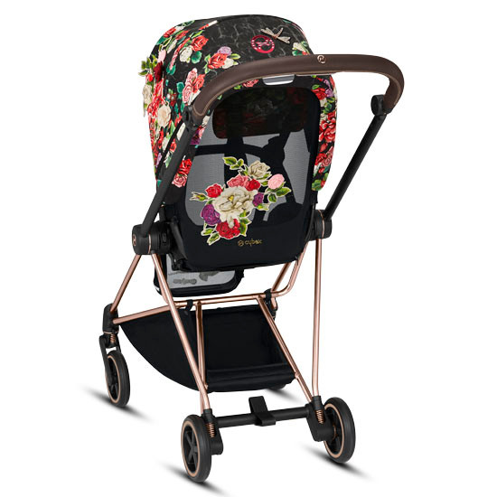 CYBEX 2019 MIOS 2 Complete Stroller - Spring Blossom Dark_thumb6