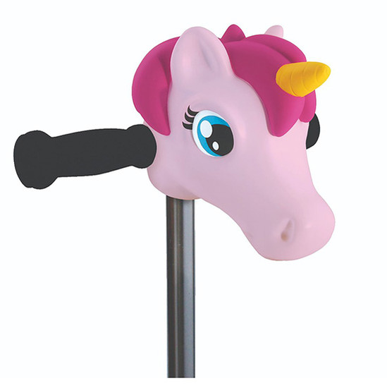 Micro Kickboard Scooter Heads - Light Pink Unicorn Rose