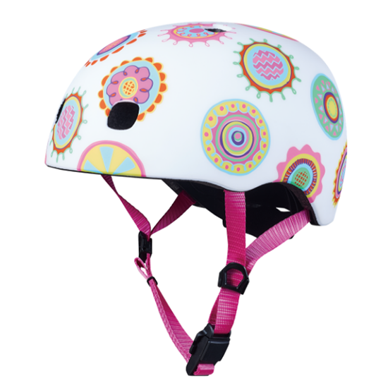 Micro Kickboard Child Helmets - Doodle Dot