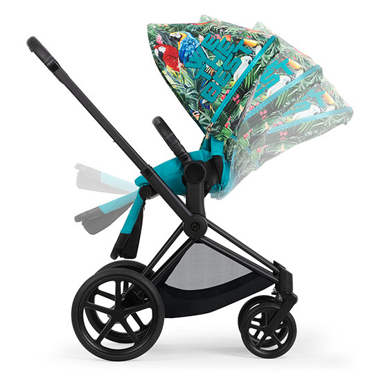 Cybex Priam 3 Stroller with Cot - We the Best