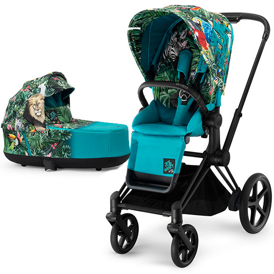 Cybex Priam 3 Stroller with Cot - DJ Khaled We the Best