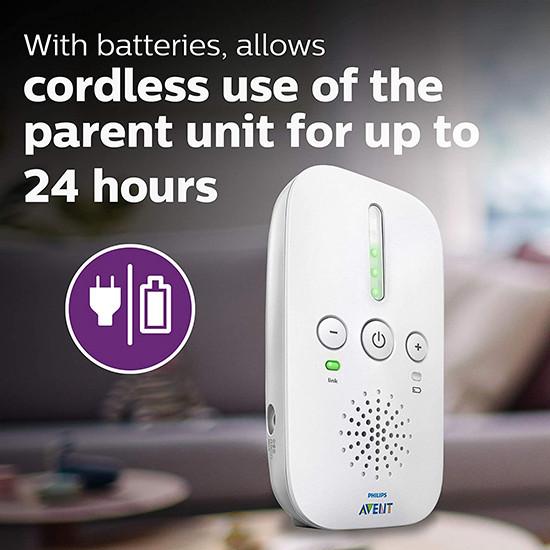 Philips Avent Audio Baby Monitor Detect SCD502/10