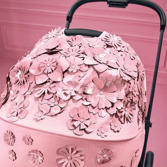 Cybex MIOS 2 Stroller with Cot - Simply Flowers