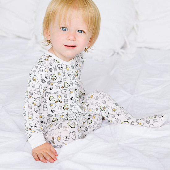 Magnificent Baby Magnetic Brunch Munch Footie