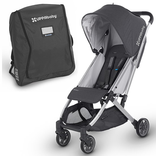 UPPAbaby MINU Lightweight Stroller with Travel Bag
