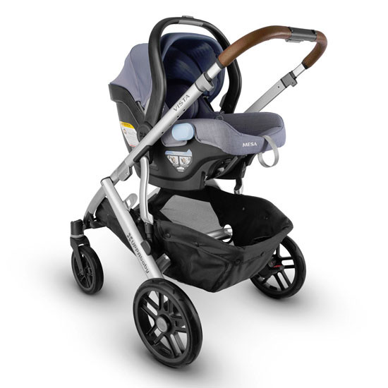 UPPAbaby Mesa 2017 Infant Car Seat - Henry/Blue Marl -5
