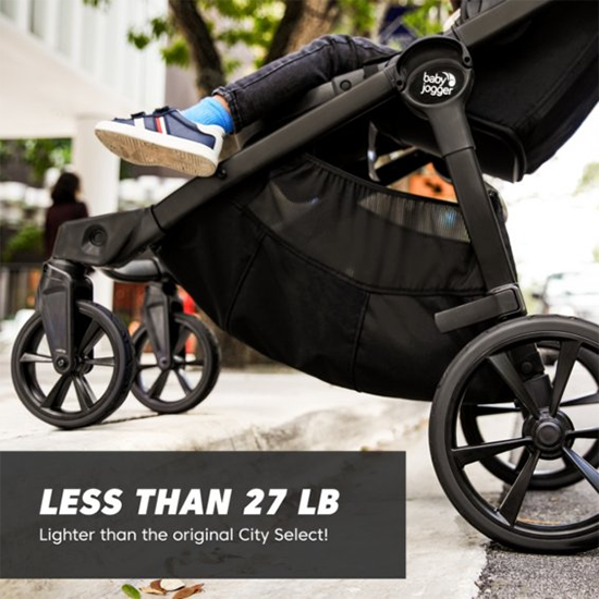 Baby Jogger City Select 2 Stroller Weight