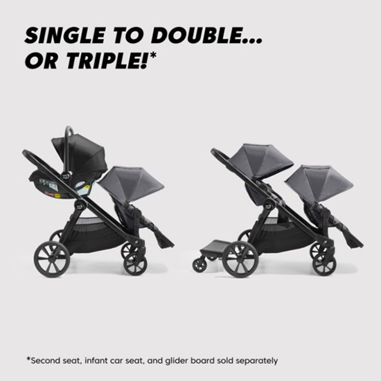 Baby Jogger City Select 2 Stroller Positions