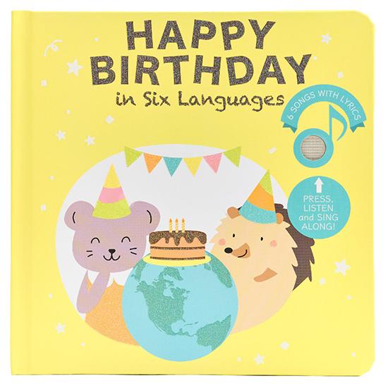 Cali's Books Happy Birthday in Six Languages