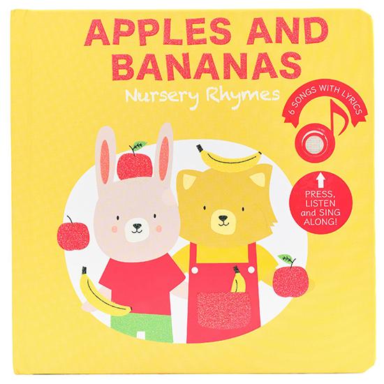 Cali's Books Apples and Bananas Nursery Rhymes