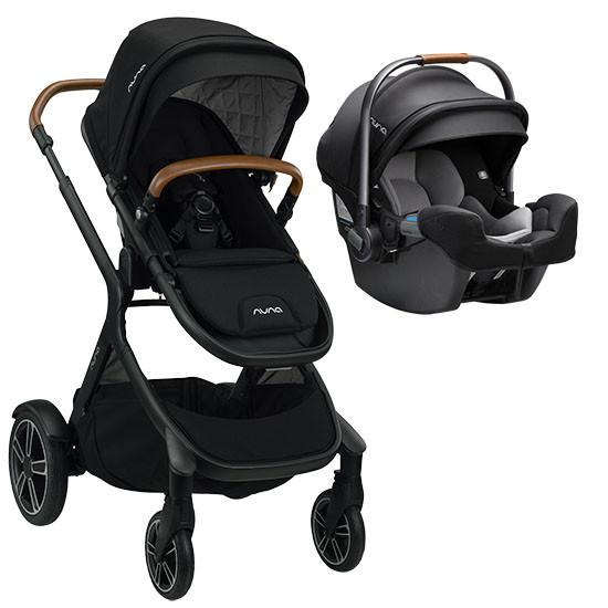 Nuna DEMI Grow Stroller + Pipa RX Travel System 2021