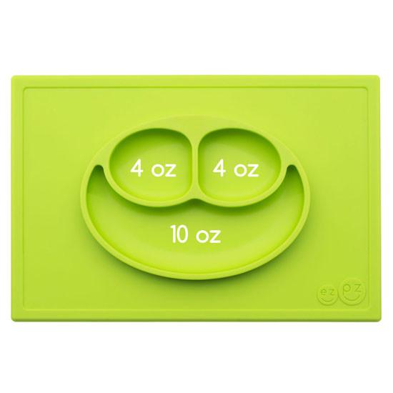 EZPZ Happy Mat - Lime-4