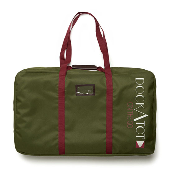 DockATot Deluxe Transport Bag - Moss
