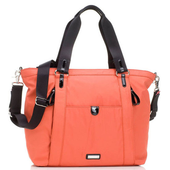 Storksak Cleo - Papaya + Mini Fix Changing Bag