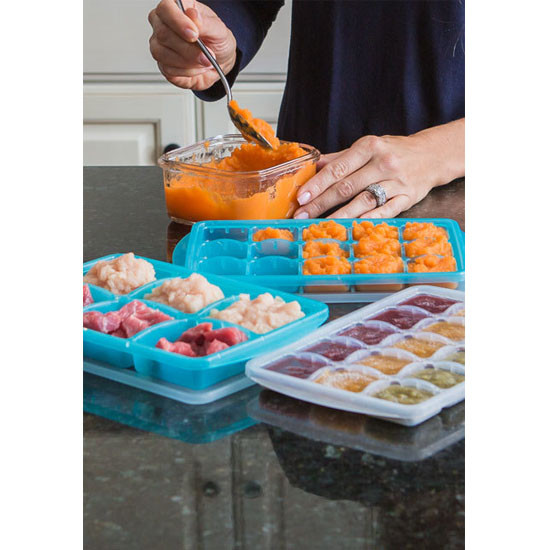 Innobaby Preppin' SMART EZ Jumbo Pop Freezer Tray - 2 Pack with Lid-5