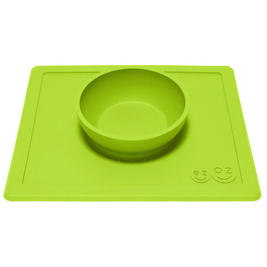 EZPZ Happy Bowl - Lime-2
