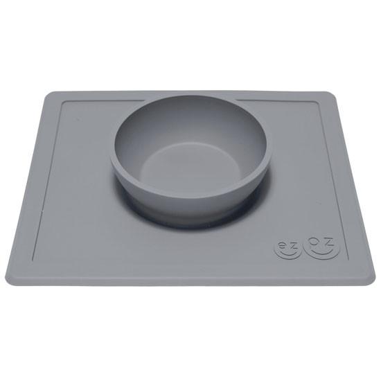 EZPZ Happy Bowl - Grey-2