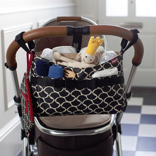 Babymel Stroller Organizer - Wave Black-6