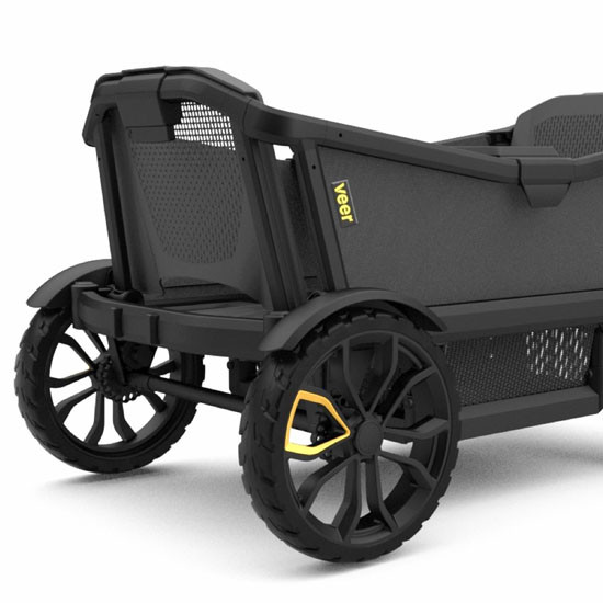 Veer Cruiser Wagon with all-terrain wheels